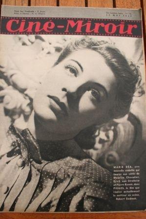 1939 Marie Dea Fernandel Spencer Tracy Irene Corday