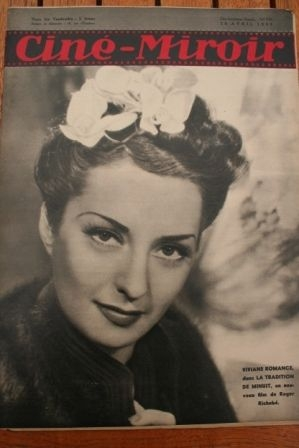 1939 Viviane Romance Loretta Young Sonja Henie