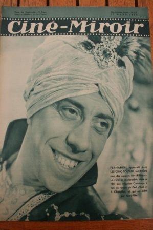 1939 Fernandel Katia Lova Jules Berry Lys Gauty