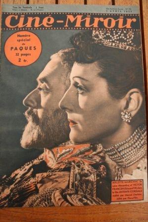39 Michele Morgan Boris Karloff Bela Lugosi Grace Moore
