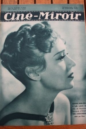 1939 Edwige Feuillere Jean Gabin Fred MacMurray