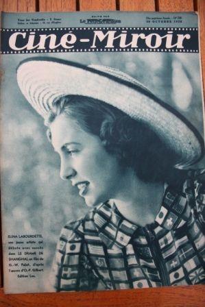1938 Fernandel Dorothy Lamour Danielle Darrieux Katia