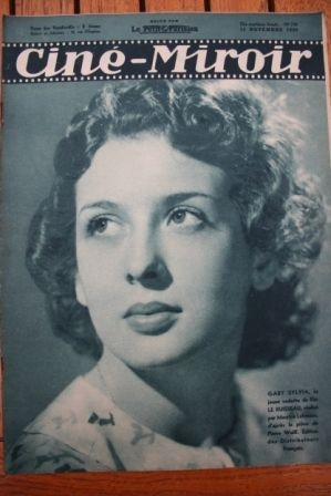 1938 Gaby Sylvia Michel Simon Robert Taylor Fernandel