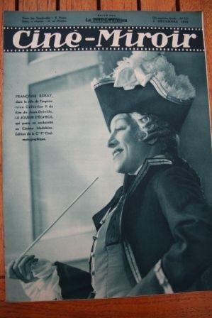 1938 Francoise Rosay Charles Trenet Erich von Stroheim