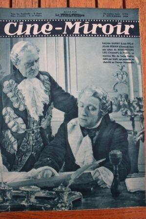 1938 Sacha Guitry Errol Flynn Robin Hood Hans Albers