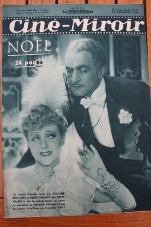 1938 Yvonne Printemps Mireille Balin Laurel And Hardy