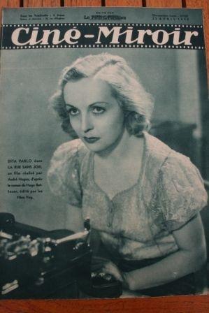 1938 Dita Parlo Erich von Stroheim Noel Noel Suzy Prim
