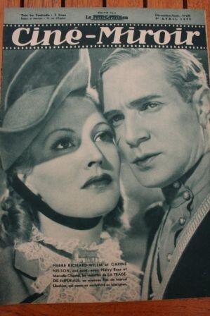 1938 Pierre Richard Willm Tyrone Power Alice Faye