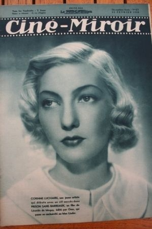 38 Corinne Luchaire Noel Noel Cary Grant Frances Farmer