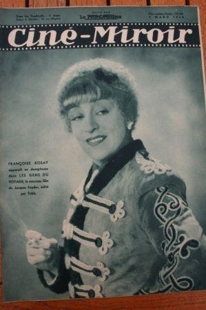 Francoise Rosay Simone Simon Grace Moore Melvyn Douglas