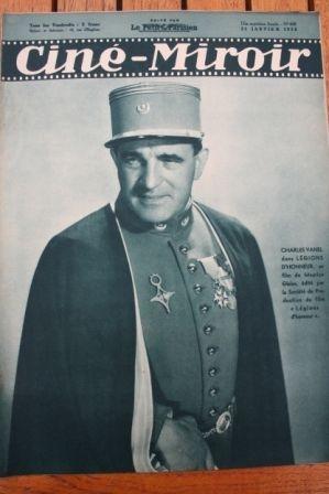 1938 Charles Vanel Rama-Tahe Stan Laurel Shirley Temple