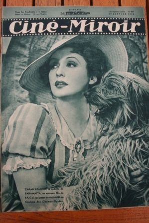 1938 Zarah Leander Sacha Guitry Charles Vanel Suzy Prim