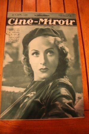 1937 Danielle Darrieux Marlene Dietrich Jean Harlow