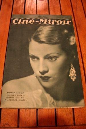 1937 Annabella Shirley Temple Jean Arthur Paul Muni