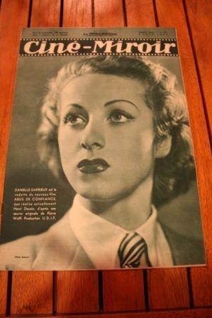 1937 Danielle Darrieux Michel Simon Marie Bell Fresnay
