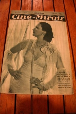 1937 Lil Dagover Willy Fritsch Sonja Henie Merle Oberon