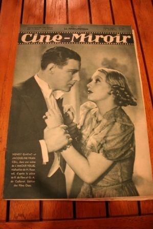1937 Henri Garat Leif Erickson Marsha Hunt Josette Day