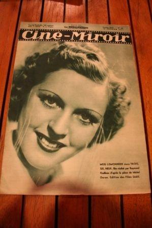 37 Meg Lemmonier Loretta Young Jean Servais Harry Baur