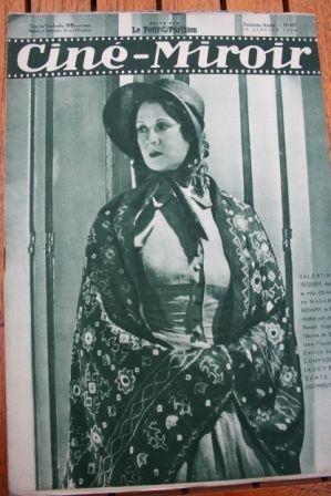 1934 Greta Garbo Melvyn Douglas Les miserables Raimu