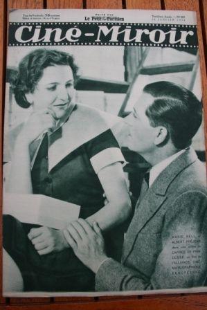 1934 Marie Bell Albert Prejean Les miserables Raimu