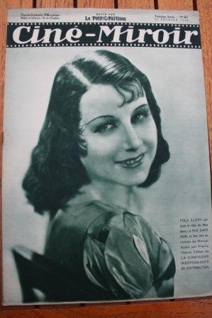 1934 Claudette Colbert Anton Walbrook Les miserables