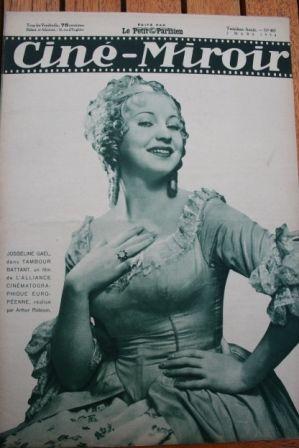 1934 Madeleine Renaud Claudette Colbert Josseline Gael