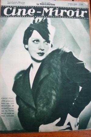 1934 Edwige Feuillere Dorothea Wieck Paul Richter