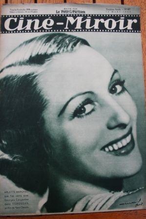 Jean Murat Edwige Feuillere Joan Blondell James Cagney