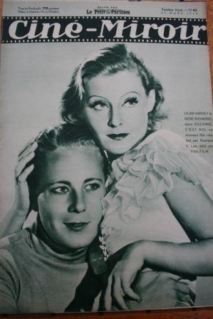 1934 Gene Raymond Lilian Harvey Sidney Fox Lili Damita