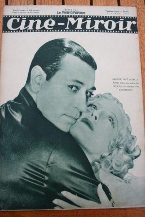 1934 George Raft Sally Rand Ivan Mozzhukhin Casanova