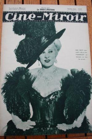 1934 Mae West Judex Victor McLaglen Edmund Lowe