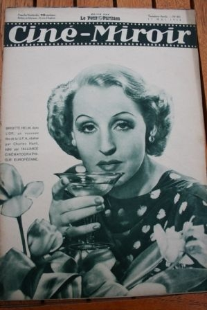 1934 Brigitte Helm Richard Arlen Al Jolson Annabella