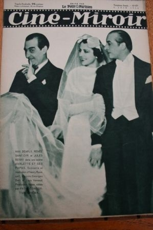 1934 Jules Berry Katharine Hepburn Barbara Stanwyck