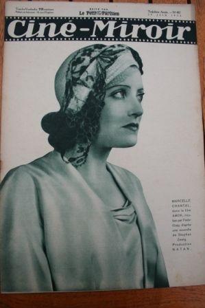 1934 Peter Lorre Anny Ondra Clive Brook Frances Drake