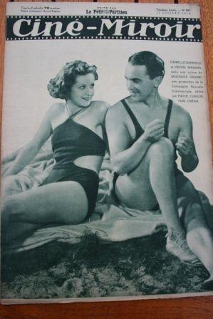 1934 Danielle Darrieux Madeleine Carroll Conrad Veidt