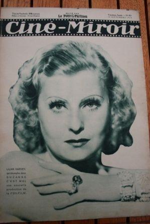 34 Lilian Harvey Shirley Temple Fay Wray Brigitte Helm
