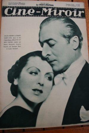 1934 Jules Berry Danielle Darrieux Meg Lemonnier