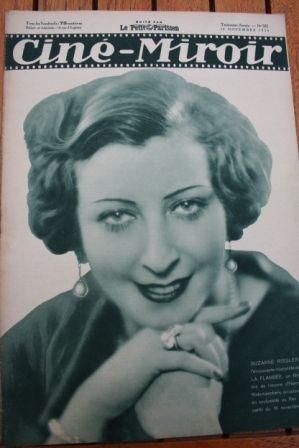 1934 Suzanne Rissler Claudette Colbert Cleopatra
