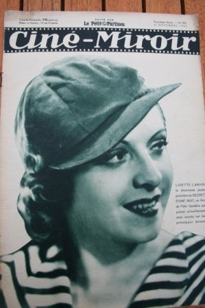 1934 Lily Damita Annabella Myrna Loy Clark Gable