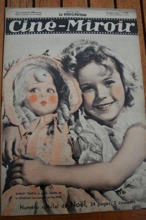 1934 Shirley Temple Brigitte Helm Madeleine Carroll