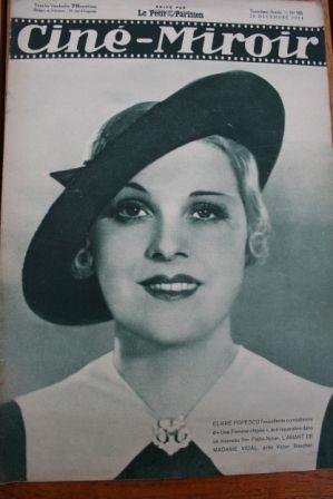 1934 Elvire Popesco Fernandel Danielle Darrieux Tramel