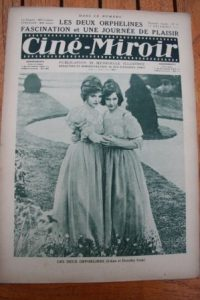 1922 Lillian Gish Dorothy Gish Mae Murray Chaplin
