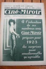 1923 Max Linder Rudolph Valentino Alla Nazimova