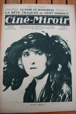 1923 Pearl White Wallace Reid Madeleine Renaud