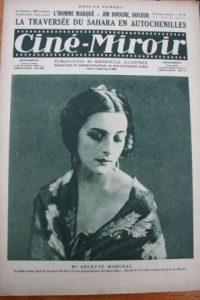 1923 Arlette Marchal William S. Hart Maurice Chevalier
