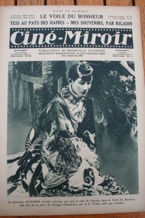 1923 Mary Pickford Rudolph Valentino Natacha Rambova