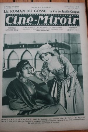 1924 Douglas Fairbanks Mary Pickford Jackie Coogan