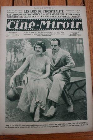 1924 Douglas Fairbanks Mary Pickford Buster Keaton