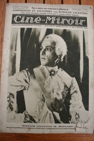 28 Rudolph Valentino Janet Gaynor Lili Damita Clara Bow