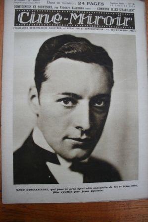 1928 Nino Costantini George O'Brien Emil Jannings